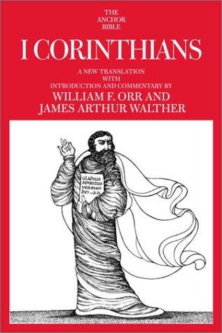 I Corinthians (Anchor Yale Bible Commentaries) PDF