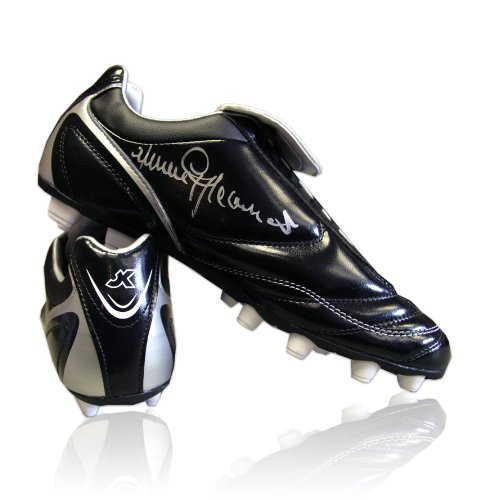 Jimmy Greaves signed football boot