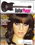 img - for Guitar Player Magazine (January 2005) (Hotter Than Hell - Allison Robertson of The Donnas) book / textbook / text book