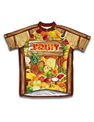 Fruity Shack Short Sleeve Cycling Jersey for Women
