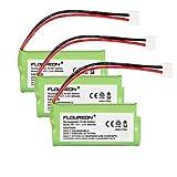 Floureon 3 Packs Cordless Telephone Battery for AT&T/Lucent 3101, 3111,BT-8001, BT-8300, SL82118, SL82208, SL82218, SL82308, SL82318, SL82408, SL82418, SL82518, SL82558, SL82658, Motorola T31, T3101, Philips SJB-2121, Uniden BT1011