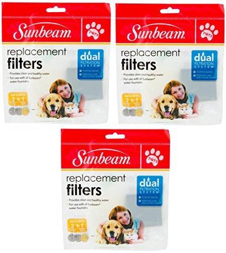 sunbeam-pets-filtre-de-rechange-lot-de-3