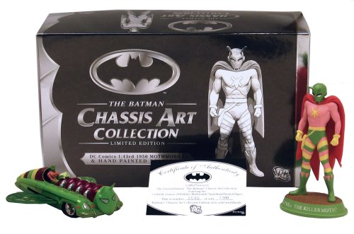 Buy Batman Chassis Art Collection 1950 Mothmobile Figure