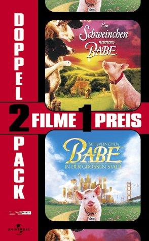 Ein Schweinchen namens Babe & Schweinchen Babe in der großen Stadt [VHS]