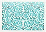 Laser Cut Thank You Notes (Stationery, Note Cards)