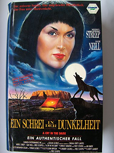 Ein Schrei in der Dunkelheit [VHS]