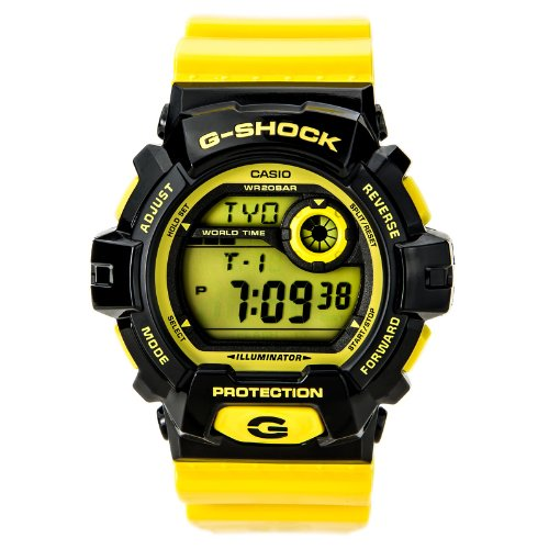 G-Shock G-8900 Crazy Color Trending Series Men's Luxury Watch – Glossy Yellow / One Size