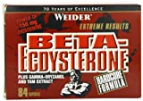 Weider Nutrition Beta Ecdysterone 84 Capsules
