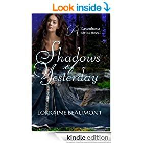 Shadows of Yesterday (Ravenhurst Series, #2) New Adult Time Travel Romance
