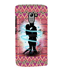 iFasho couple kissing Back Case Cover for Lenovo K4 Note