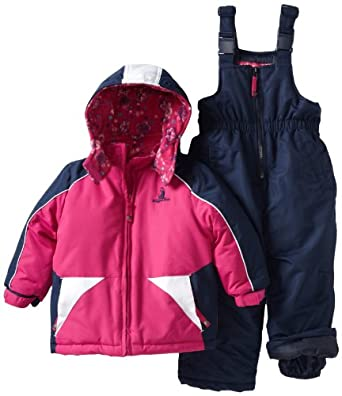rugged bear girls 2 6x solid snow suit berry. Black Bedroom Furniture Sets. Home Design Ideas