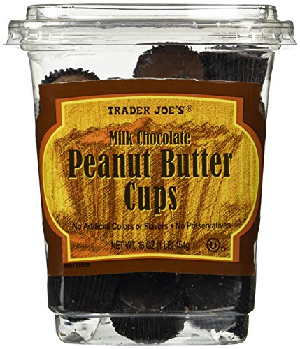 Trader Joe's Milk Chocolate Peanut Butter Cups 16 OZ(1 LB) (Cookie Butter Cups compare prices)