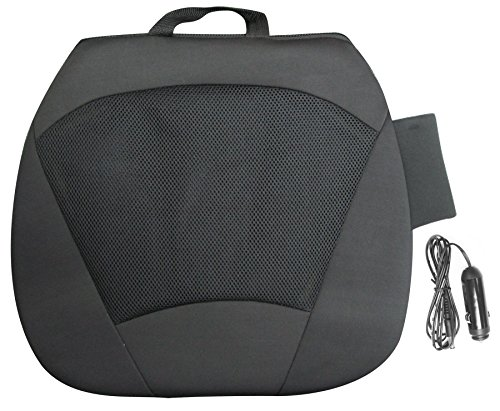 Type S (Cu53464-6) Black 12V All Season Seat Cushion front-164349