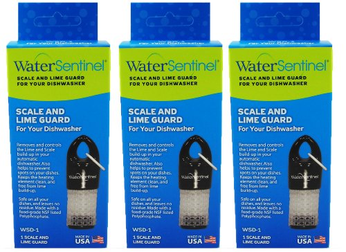 Water Sentinel WSD-1 Scale and Lime Guard Dishwasher Filter, 3-Pack