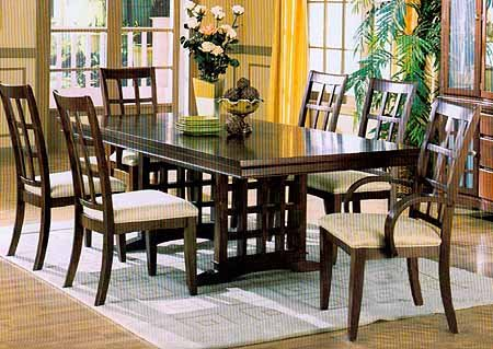 Cherry Finish Dining Set