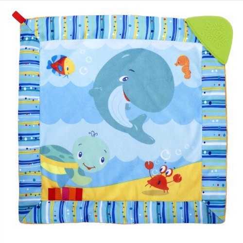 Bright Starts Cuddle and Soothe Teether Blanket