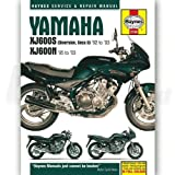Haynes Manual Yamaha XJ600S (Diversion, Seca II) & XJ600N Fours (92-03)