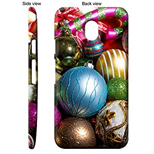 TheGiftKart Pile Of Christmas Spirit & Decoratives Back Cover Case for Motorola Moto G Turbo Edition - Multicolor