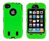 Body Armor for iPhone 4 / 4th Generation - Green & Black