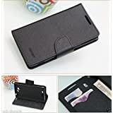 Mercury Wallet Style Flip Case Cover For Sony Xperia C C2305 S39H Flip Case Cover Stand (Only For Sony Xperia...