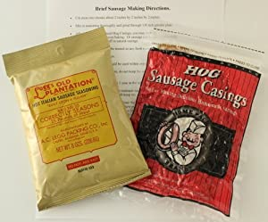 Ac Legg Inc Hot Italian Sausage Seasoning With Dewied Homepack Hog Casings