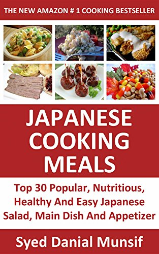 Top 30 Popular, Nutritious, Healthy And Easy Japanese Salad, Main Dish And Appetizer Meals