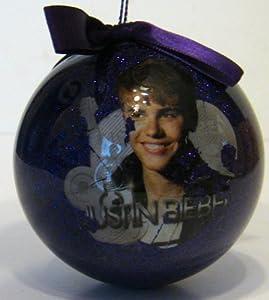 Amazon.com : Purple Justin Bieber Ball Christmas Ornament ... - photo #40