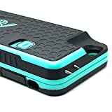 The Only High-Powered Stun Gun that Protects & Recharges Your iPhone 6/6s - Concealed Inside a Durable Weatherproof Case - Flexibility to Attach/Detach - 4.0mAh for Maximum Self Defense