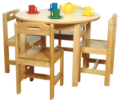 "A+ Childsupply Round Table 22""H No.F800322"