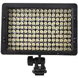 Nanguang - CN-160 9,6W LED Lumière vidéo pour Canon 500D, 550D, 50D, 60D, 7D, Nikon D90, D5000, D3100, D700, D7000, Sony A330, A390, A33, A55, Olympus, Pentax, Panasonic DSLR