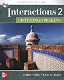 img - for Interactions 2 - Listening/Speaking Student Standalone eCourse Code: Silver Edition book / textbook / text book