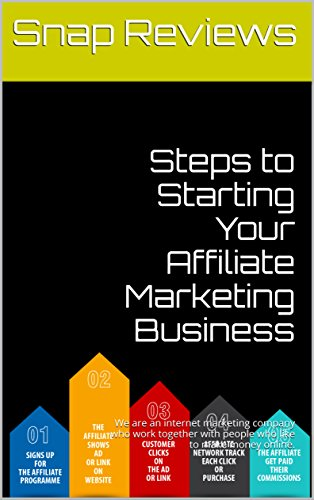 Steps to Starting Your Affiliate Marketing Business: How to make money online affiliate marketing start your online affiliate business today!