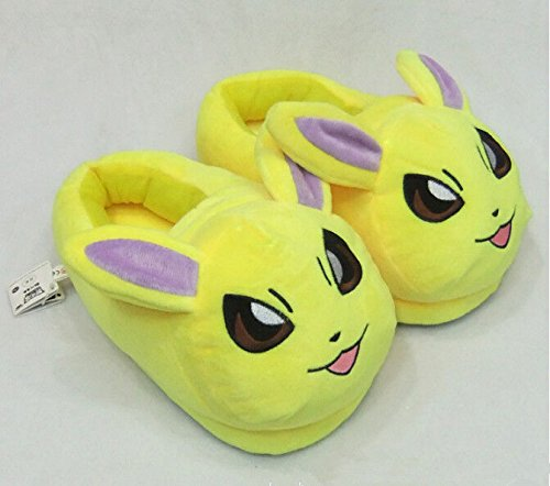 POKEMON-PANTUFLAS-JOLTEON-ZAPATILLAS-SLIPPERS-PLUSH-SLIPPERS-JOLTEON-28cm11