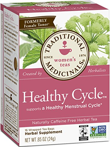 Traditional Medicinals Healthy Cycle, 16-Count Boxes (Pack Of 6)