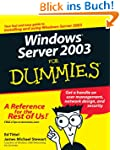 Windows Server 2003 For Dummies