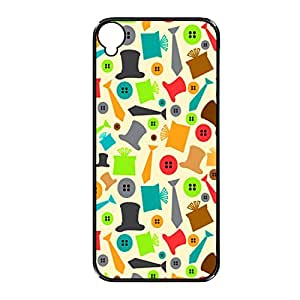 Vibhar printed case back cover for Sony Xperia T3 HatButtons