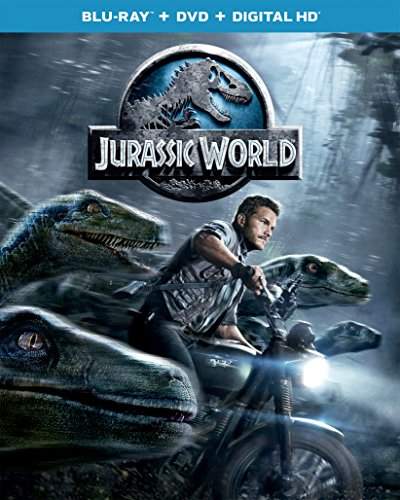 Jurassic World [Blu-ray + DVD + Digital HD] [2015] [Import]
