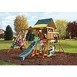 Cedar Summit Brookridge Cedar Wooden Play Swing Set