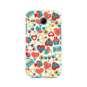 Mobicture Be my Valentine Premium Printed Case For Samsung Grand Duos 9082