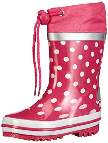 Playshoes-Gummistiefel-Punkte-181767-Mdchen-Gummistiefel-Pink-pink-18-EU-2627