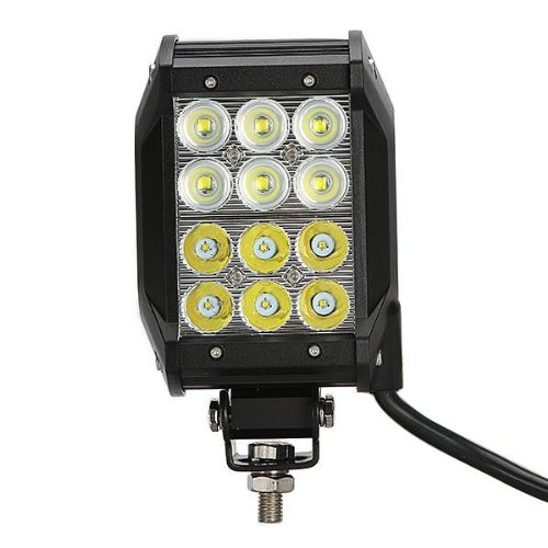"4"" 2520Lm Cree Off-Road Led Work Light Bar Quad Row - 36W Combo Beam For Pickup Car Atv Jeep"