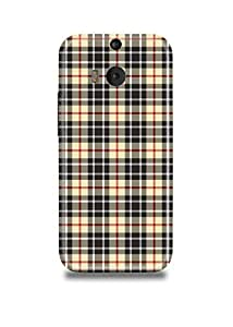 Plaid HTC M9 Plus Case
