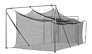 Cimarron Outdoor Sports Gaming Accessories 55x14x12 Rookie Batting Cage and Frame by Cimarron Sports