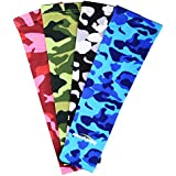 COOLOMG Pair Compression Arm Sleeve Digital Camo Youth Adult 10 Color 6 Size
