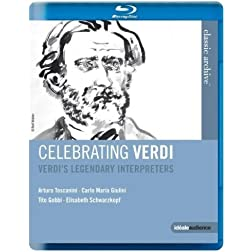 Celebrating Verdi: Legendary Interpreters (Blu Ray) [Blu-ray]