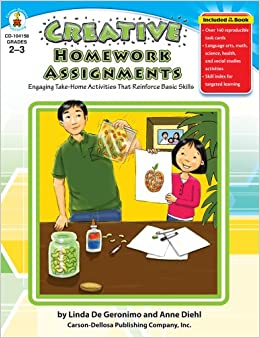 Creative homework assignments grades k 1 engaging take home activities that reinforce basic skills