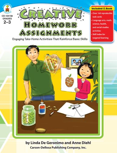 Creative Homework Assignments, Grades 2 - 3: Engaging Take-Home Activities That Reinforce Basic Skills - 1