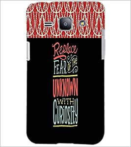 PrintDhaba Quote D-2680 Back Case Cover for SAMSUNG GALAXY J1 (Multi-Coloured)