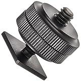 14-Zoll-Zubehoer-Adapter-an-Standard-Blitzschuh-Zubehoerschuh-ISO-Normschuh-fuer-Dauerlicht-Mikrofon-Monitor-etc