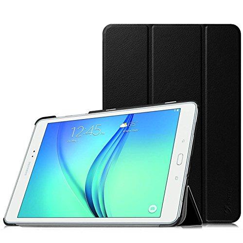 Fintie Samsung Galaxy Tab A 9.7 Funda - Ultra Slim Smart Case Funda Carcasa con Stand Función y Auto-Sueño / Estela para Samsung Galaxy Tab A 9.7 pulgadas SM-T550N / T555N (Negro)